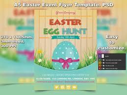 Easter Egg Hunt Flyer Template Psd Studio81