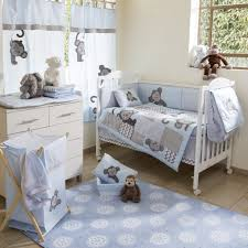 cool baby boy bedding set 13 cute sets the peanut shell mosaic crib geometric prints in teal gray eutskgo