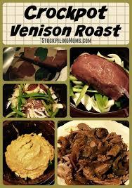 crockpot venison roast stockpiling moms