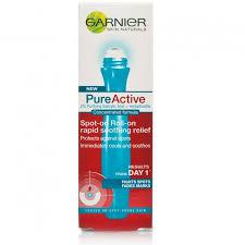 pure active garnier roll on