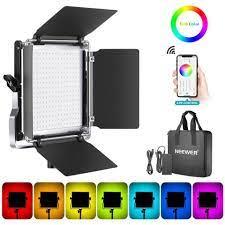 Đèn led quay phim chụp ảnh Neewer 660 RGB giá cạnh tranh