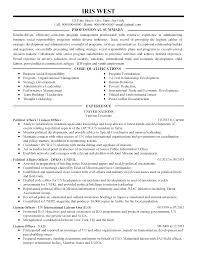 Political Resume Examples Professional Political Affairs Liaison Officer Templates To 6