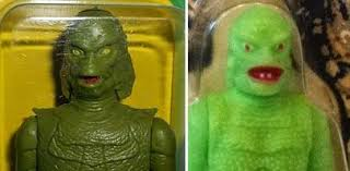 Image result for the creature from the black lagoon action figure public domain