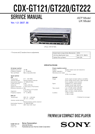 download free pdf for sony cdx gt220 car receiver manual Sony Cdx Sw200 Wiring Diagram pdf for sony car receiver cdx gt220 manual sony xplod cdx sw200 wiring diagram