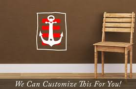 Pirate Accessories For Bedroom Pirate Decor A Boat Anchor With Strips Antiqued And Stylized For