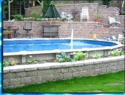 partial inground pools semi pool swimming long island ny u2013 adelindeburnclub semi inground swimming pools16