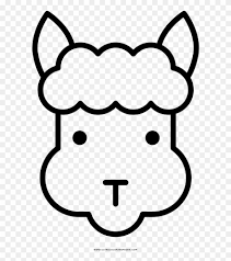 Alpaca Coloring Page Ultra Pages Cute Kawaii Phenomenal Disegni
