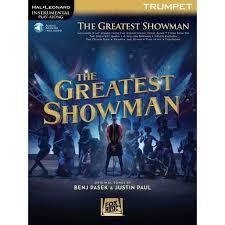 Greatest Showman Soundtrack Trumpet BOOK/ON LINE AUDIO (HAL LEONARD)