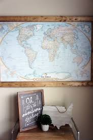 Pin Board Travel Map Diy Craft Projects Home Projects Travel