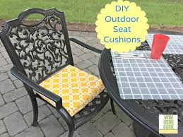 seat cushions for outdoor metal chairs. diy outdoor seat cushions - make inexpensively by making emvellope cushion covers and stuffing for metal chairs y
