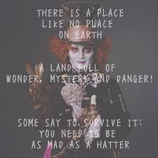 Mad Hatter Quotes Inspiration 48 Mad Hatter Quotes Laughtard