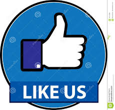 Like Us On Facebook Vector Like Us Facebook Button Vector Editorial Photo Illustration Of