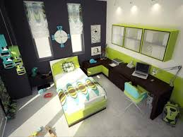 Green color scheme, white-black room colors with green accents, kids room  design and decorating
