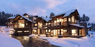 luxury mounn home in breckenridge backing onto breckenridge ski resort