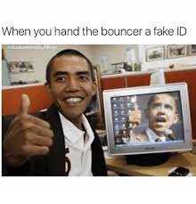 You A When Me The Id me Hand Fake Bouncer Meme On