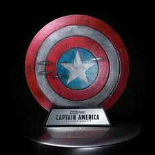 3d printable captain america shield by