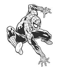 Disegni Di Spiderman Da Stampare E Colorare Foto Mamma Pourfemme