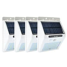hanging solar patio lights. VOLADOR Outdoor Hanging Solar Lights,4 Pack 20 LEDs Motion Sensor Light, Pathway Lighting For Wall Garden Patio Deck Yard Driveway Stairs With 2200mAh Lights