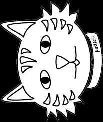 Small Picture Cat Face Coloring Page Cat Colouring nebulosabarcom