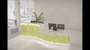 office front desk design design. neues empfangstheken design pearl by andreas stock reception desk office furniture youtube front t