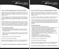 chief operating and technical officer chief finance job description