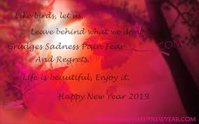 New Year Quotes 2019 Png Transparent Best Stock Photos