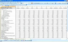 Monthly Budget Planner Template Excel Spreadsheet Daily Ms