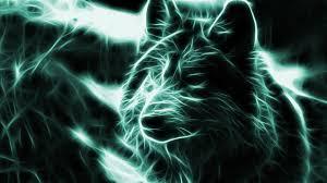 Neon Wolf Wallpaper Backgrounds 3d ...