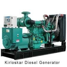 diesel generator. Kirloskar Diesel Generator At Rs 540000 /piece   ID: 13547765648