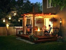 outdoor pergola lighting. Outdoor Pergola Ideas Small Backyard Lighting Gazebo . E