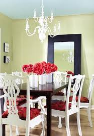 beautiful painted dining room chairs with white painted chairs dark table bhg