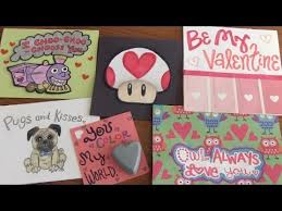 Valentines Day Cards For Boys Valentines Day Cards For Boys Girls How To Socraftastic Youtube
