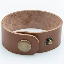 one inch wide leather cuff bracelets