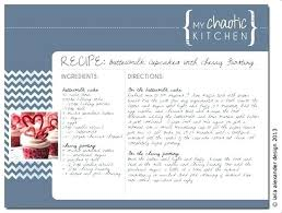 Free 4 X 6 Recipe Card Template Gdwebapp Com