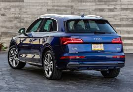 Audi Q5 Blue Color Taillights Cargo Dimensions Singular Release ...
