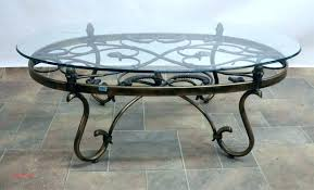 table wrought iron accent tables glass coffee table inspirational and legs