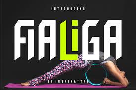 Ein herz erstellt aus zwei kreisbögen und einem rechten winkel. Fialiga Font By Inspiratype Creative Fabrica Di 2020