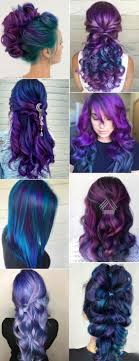 Purple And Blue Hair Hair Styles