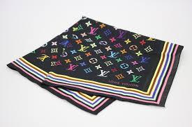 louis vuitton bandana. 100% of louis vuitton monogram multicolored bandana cotton ノワール u
