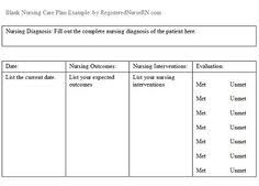 Nursing Care Plan Template Great Template Writemyessayforme10 Com
