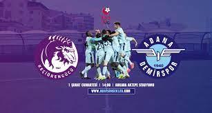 Adana Demirspor, Deplasmanda Keçiörengücü ile Karşılaşacak - Mavi Şimşekler