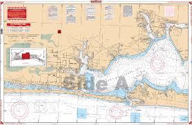 Icw Navigation Charts Fort Walton Beach And Destin Icw Nautical Chart