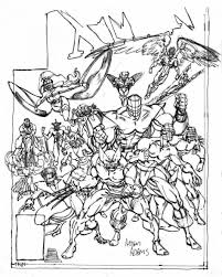 Small Picture Coloring Pages Free Printable X Men Coloring Pages For Kids