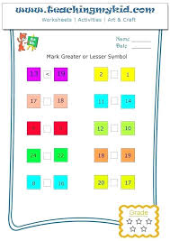 Ordinal Numbers 4 Teaching Preschool Worksheets Number And Kids Top For