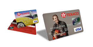 chevron texaco credit card visa