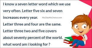 Letter World Can You Guess This Seven Letter Word Puzzle Answer