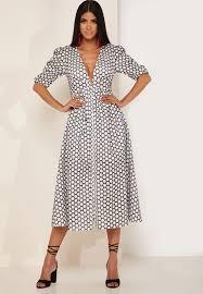 Belong Printed Midi Dress