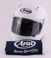 Arai Astro Light Helmet Astro Light White Helmet