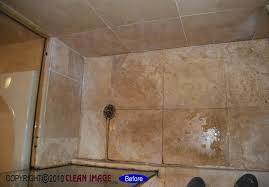 travertine shower floor refinishing natural stone and tile