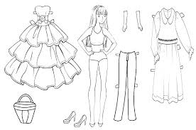 American Doll Coloring Pages Doll Coloring Pages Girl Free Sheets